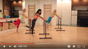 Barre Fitness At Home